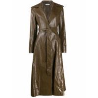 Rejina Pyo Long Trench Coat - Marrom