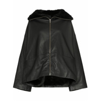 Toteme Annecy Leather Jacket - Preto