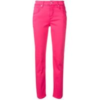 Cambio Calça Jeans Slim - Rosa