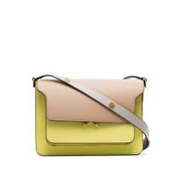 Marni Bolsa tiracolo Trunk de couro - Amarelo - FarFetch BR