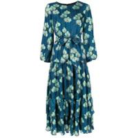 Borgo De Nor Vestido Floral 'augustina' - Azul