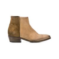 Strategia Two-Tone Ankle Boots - Neutro