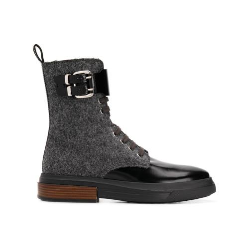 Imagem de Tod's Ankle boot com cadarço - Cinza