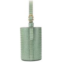 Trademark Bolsa Tote Com Efeito Crocodilo - Green