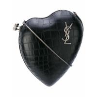 Saint Laurent Bolsa Transversal 'love Box' - Preto