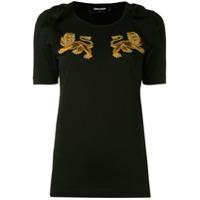 Dsquared2 Camiseta Com Detalhe De Leão - Preto