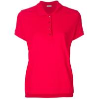 Moncler Camisa Polo Slim - Vermelho
