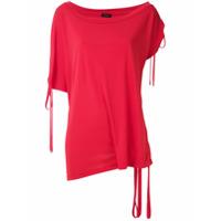 Tufi Duek Blusa Com Amarração - Vermelho