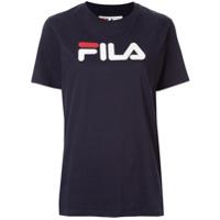 Fila Camiseta Com Estampa De Logo - Azul