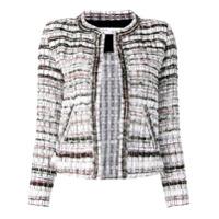 Iro Structured Tweed Jacket - Branco