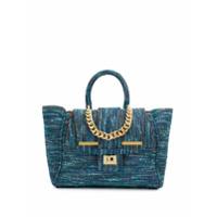 Alila Bolsa Tote De Tweed - Azul