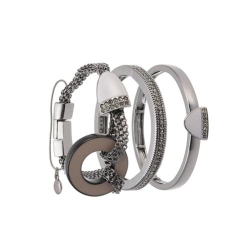 Imagem de Camila Klein Kit 3 pulseiras com imã - Metálico