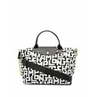Longchamp Bolsa De Mão Le Pliage Collection Média - Preto