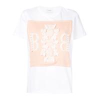 Barrie Camiseta Com Logo Bordado - Branco