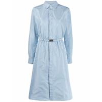 Ralph Lauren Collection Belted Shirt Dress - Azul