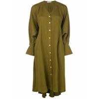 Palmer / Harding Oversized Midi Shirt Dress - Verde