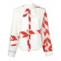 Rohka Camisa Estampada - Branco