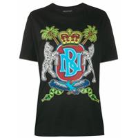 Neil Barrett Camiseta Com Estampa De Emblema - Preto