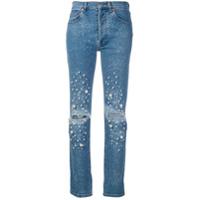 Forte Dei Marmi Couture Calça Jeans Reta - Azul