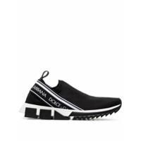 Dolce & Gabbana Tênis Slip-On - Preto