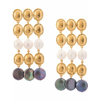 Lizzie Fortunato Jewels Empress Earrings - Dourado