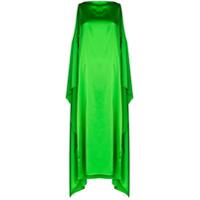 Bernadette Vestido Judy De Seda - Verde