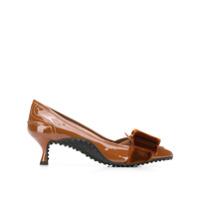 Tod's Sapato De Couro - Marrom