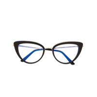 Tom Ford Eyewear Armação De Óculos Gatinho - Preto