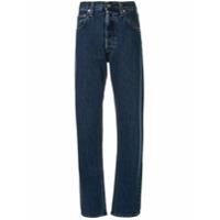 Helmut Lang Calça Jeans Boyfriend Reta - Azul