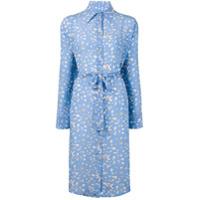 Tara Matthews Seashell Printed Shirt Dress - Azul