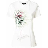 Salvatore Ferragamo Camiseta Mangas Curtas - Branco