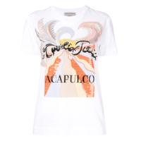 Emilio Pucci Camiseta Acapulco - Branco