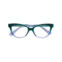 Gucci Eyewear Armação De Óculos Gatinho - Verde