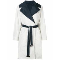 's Max Mara Trench Coat Dupla Face - Branco