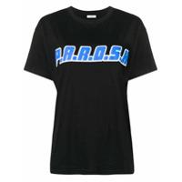 P.a.r.o.s.h. Camiseta Com Estampa De Logo - Preto