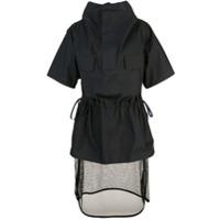 Toga Vestido Com Detalhe Transparente - Preto