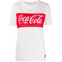 Tommy Jeans Camiseta Tommy X Coca Cola - Branco