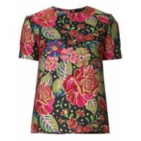 Manish Arora Blusa Floral - Estampado