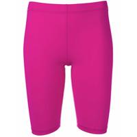 Nanushka Biker Jersey Shorts - Roxo