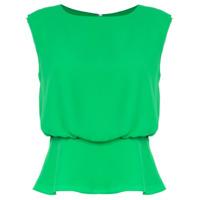 Ck Calvin Klein Blusa Sem Mangas - Green