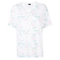 Joseph Camiseta Mangas Curtas Com Estampa - Branco