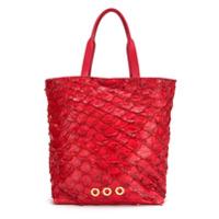 Osklen Bolsa De Couro - Vermelho