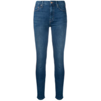 Mother Calça Jeans Skinny - Azul