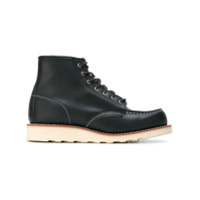 Red Wing Shoes Bota De Couro - Preto