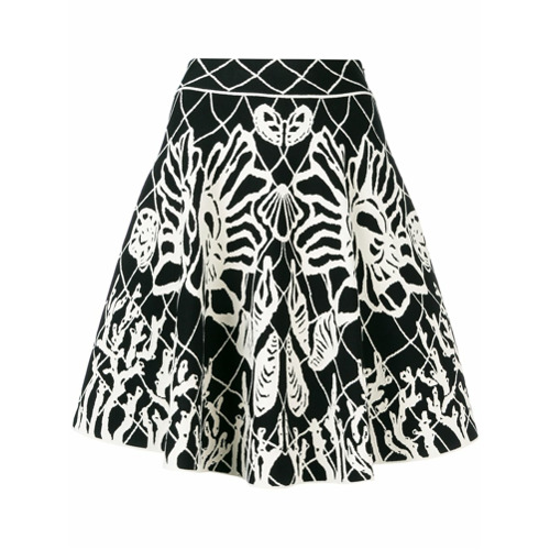 Imagem de Alexander McQueen Vestido Spine Shell - Branco