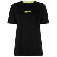 Marcelo Burlon County Of Milan Camiseta Color Block - Preto