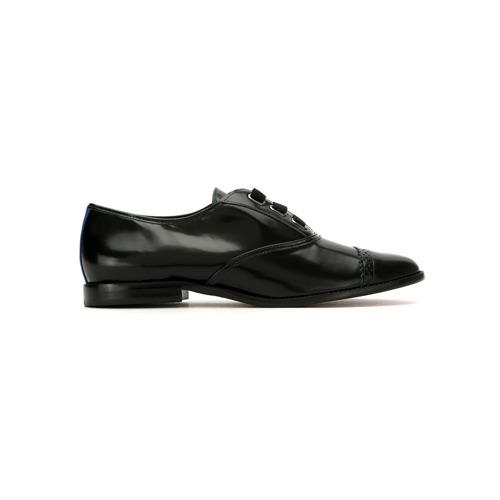 Imagem de Blue Bird Shoes Oxford 'Laço' de couro - Preto