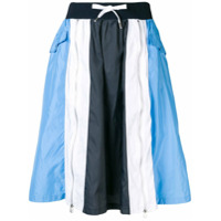 Each X Other Colour Blocked Sports Skirt - Azul