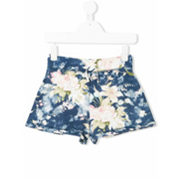 Ralph Lauren Kids Short Floral - Azul
