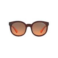 Armani Exchange Óculos De Sol Arredondado - 820895Tartaruga